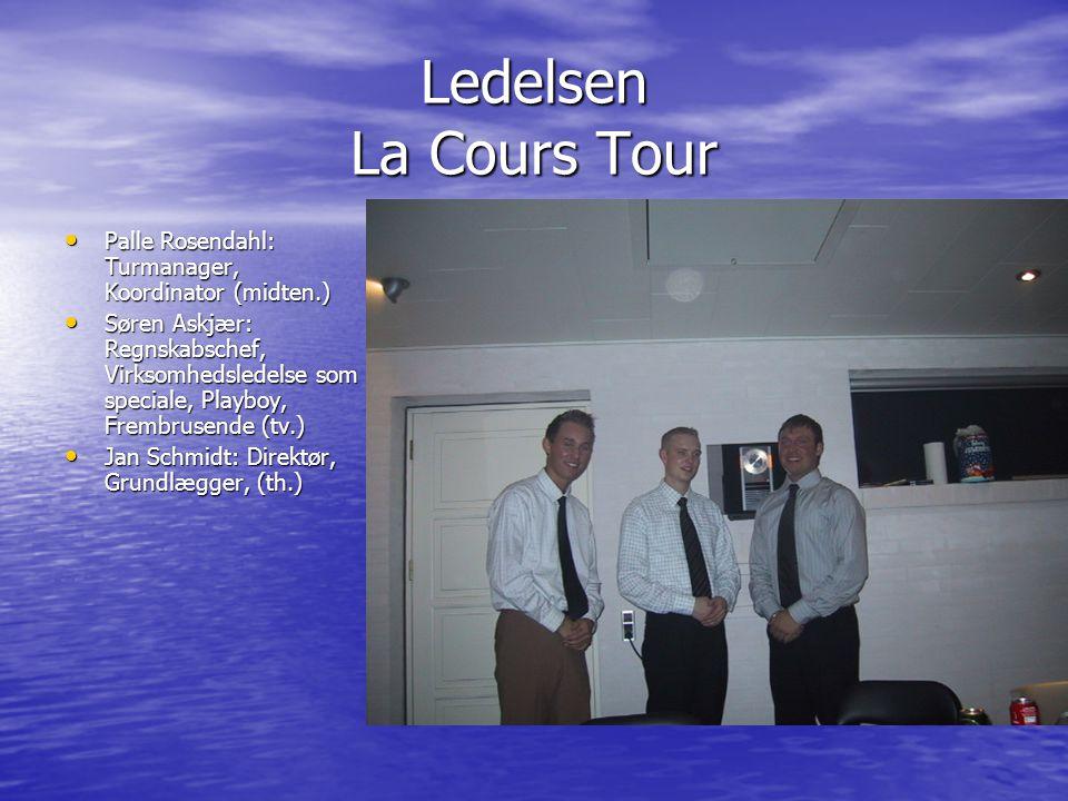 Ledelsen La Cours Tour Palle Rosendahl: Turmanager, Koordinator (midten.)