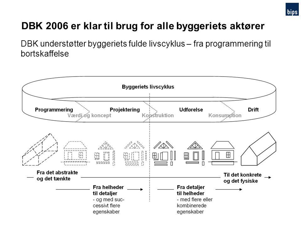 DBK 2006 er klar til brug for alle byggeriets aktører