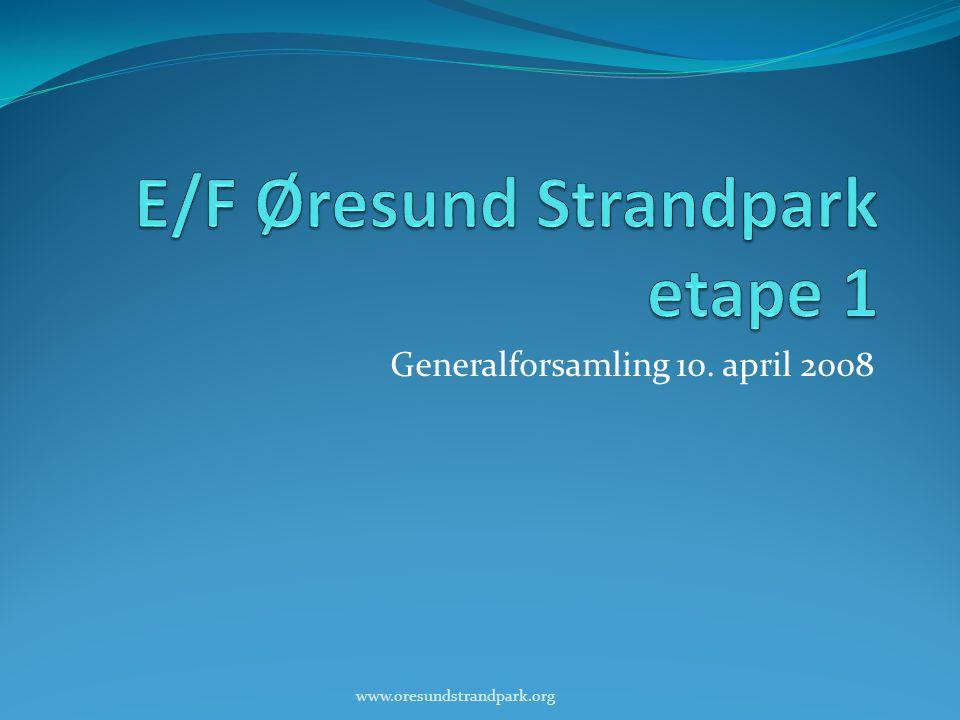 E/F Øresund Strandpark etape 1