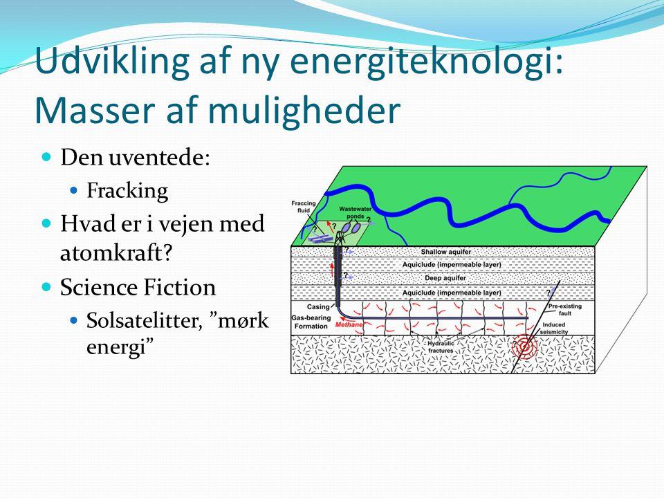 Udvikling af ny energiteknologi: Masser af muligheder