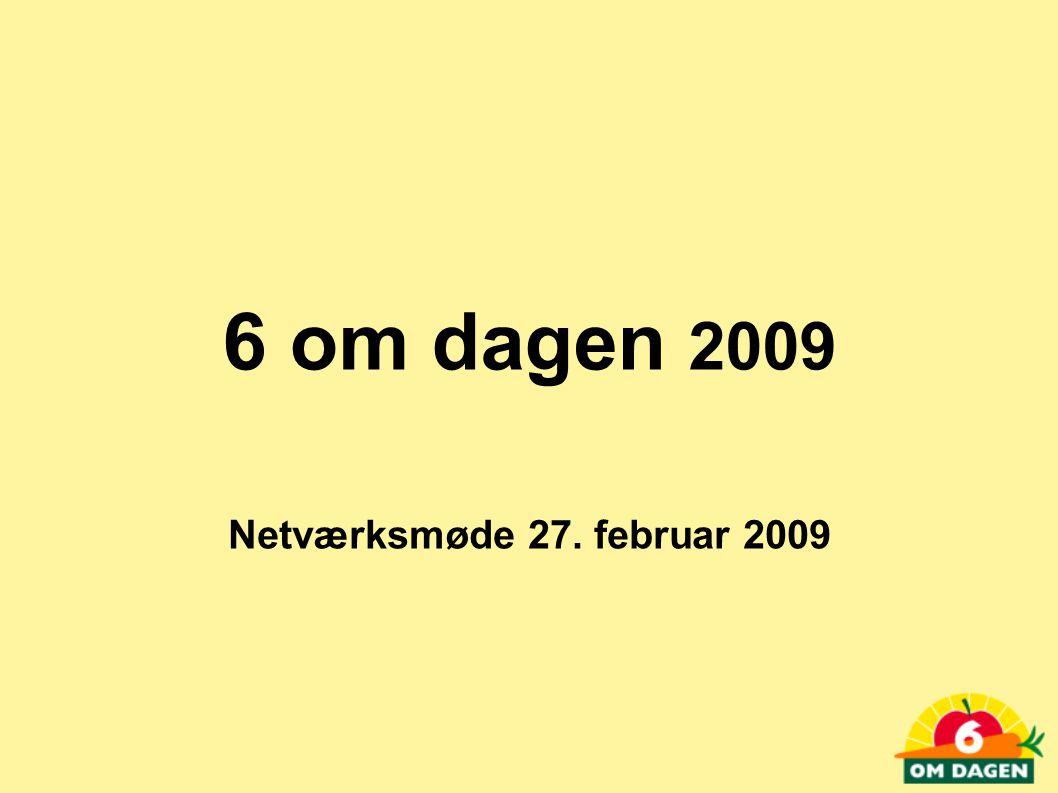 6 om dagen 2009 Netværksmøde 27. februar 2009