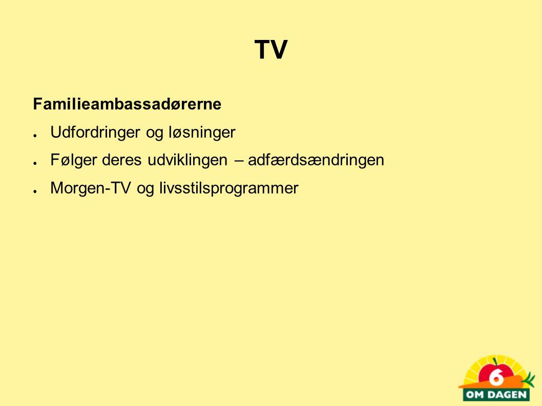 TV Familieambassadørerne Udfordringer og løsninger