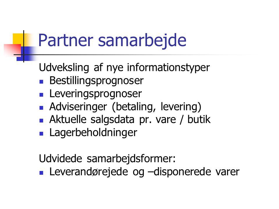 Partner samarbejde Udveksling af nye informationstyper