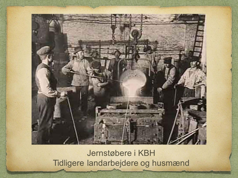 Tidligere landarbejdere og husmænd