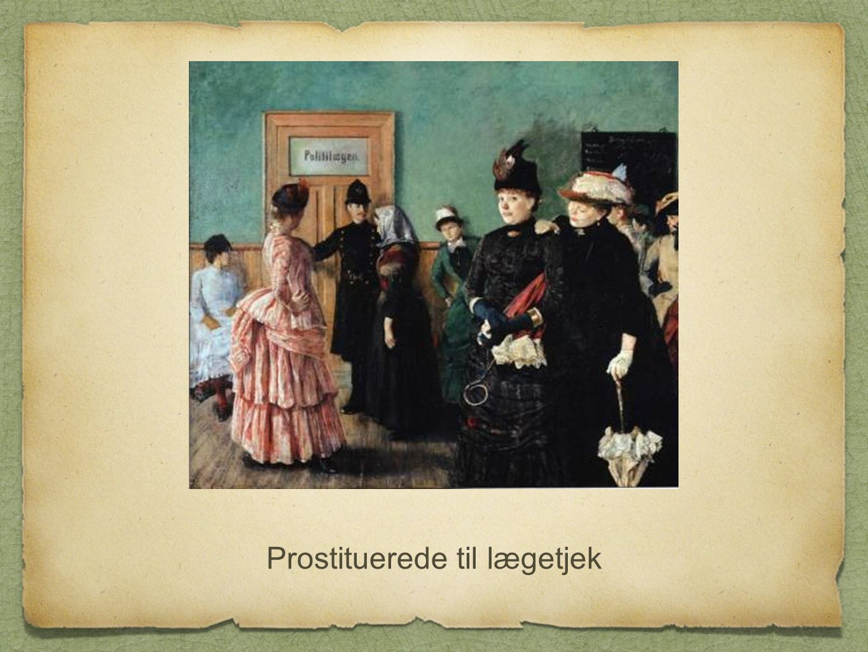 Prostituerede til lægetjek