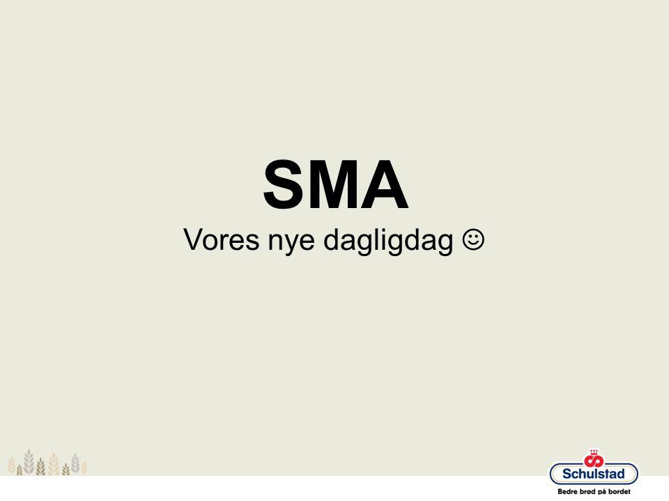 SMA Vores nye dagligdag ☺