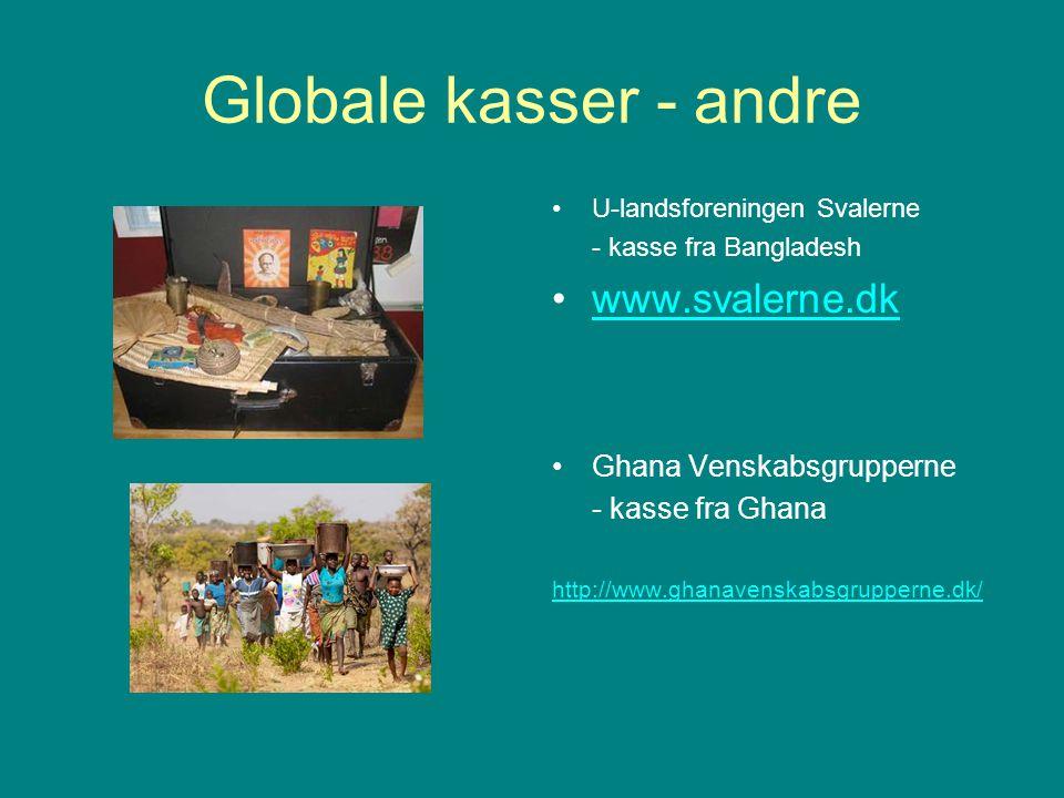 Globale kasser - andre www.svalerne.dk Ghana Venskabsgrupperne