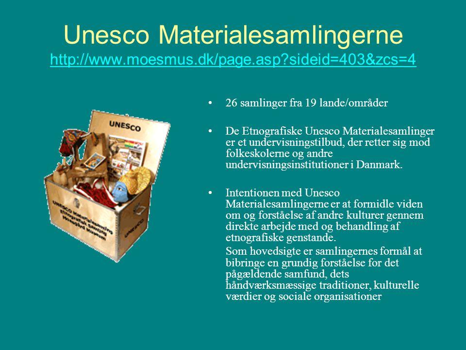 Unesco Materialesamlingerne http://www. moesmus. dk/page. asp
