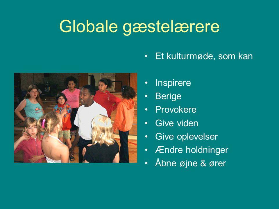 Globale gæstelærere Et kulturmøde, som kan Inspirere Berige Provokere