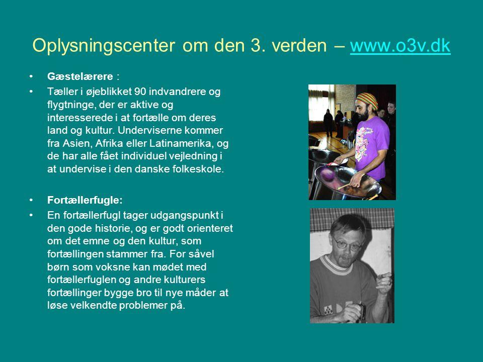 Oplysningscenter om den 3. verden – www.o3v.dk