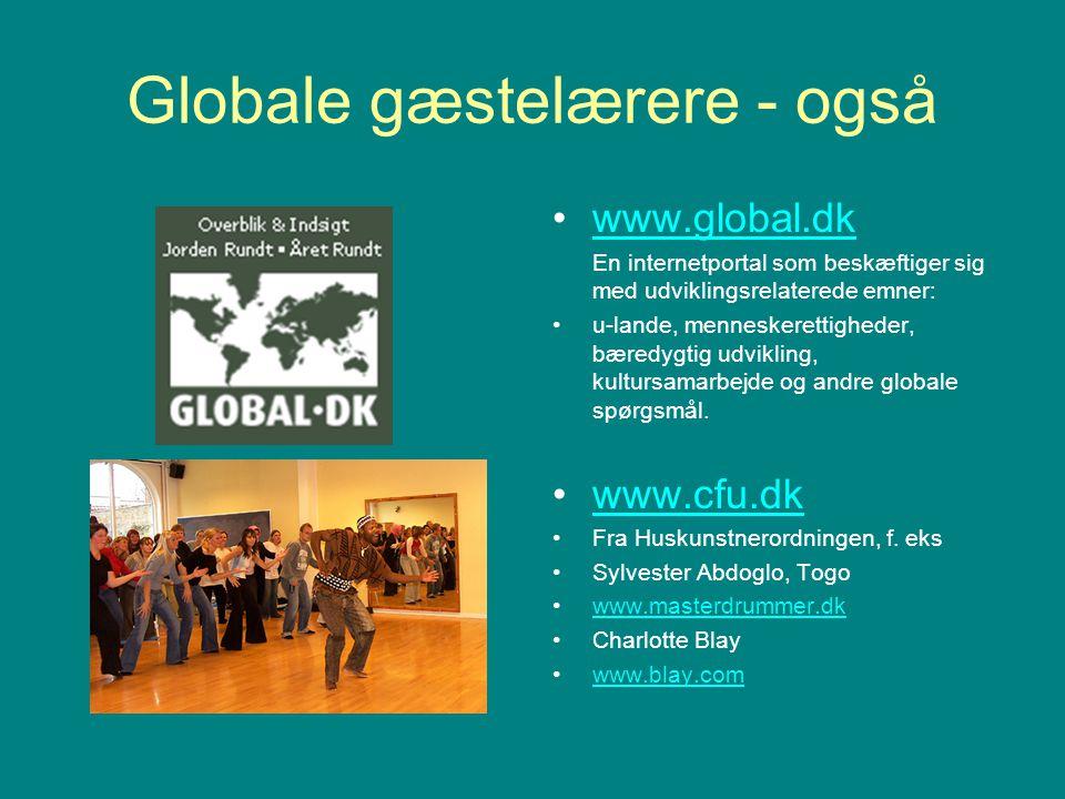 Globale gæstelærere - også
