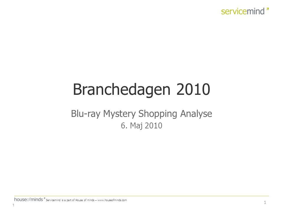 Blu-ray Mystery Shopping Analyse 6. Maj 2010