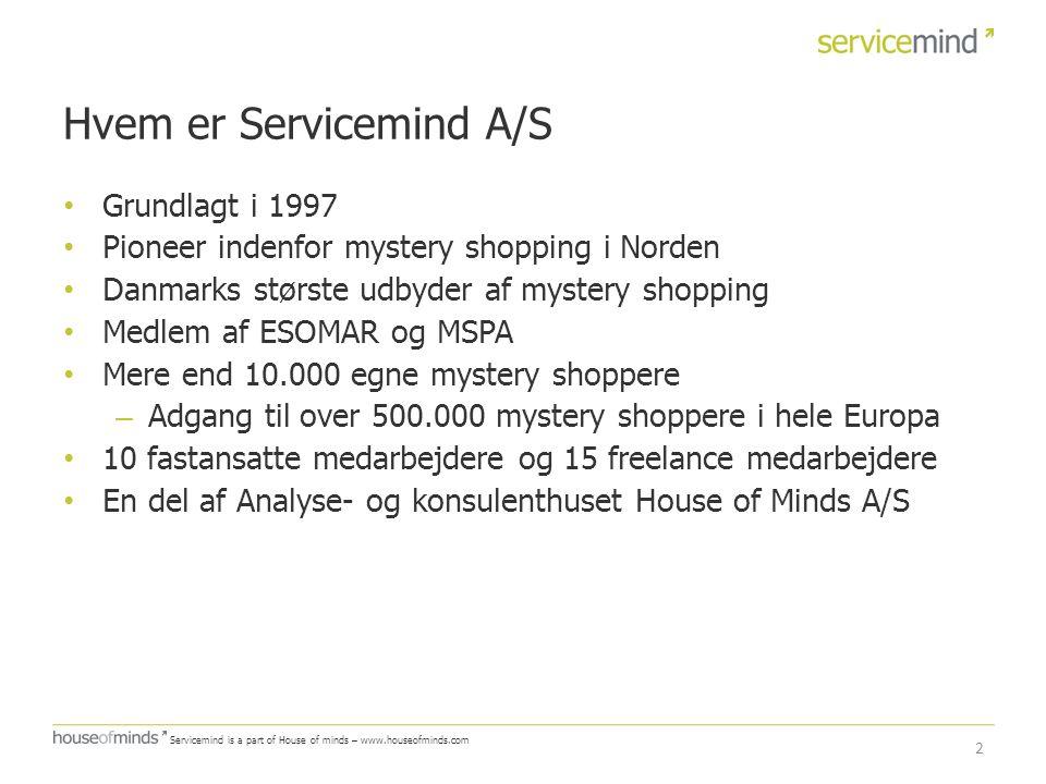 Hvem er Servicemind A/S