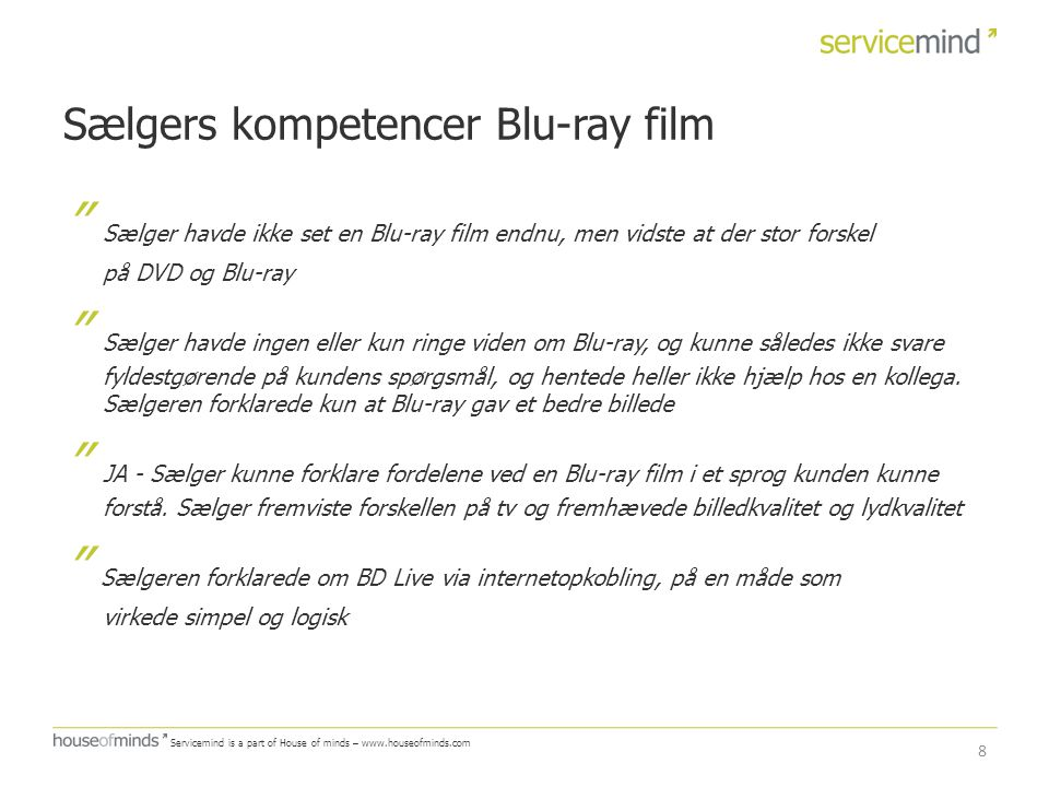 Sælgers kompetencer Blu-ray film