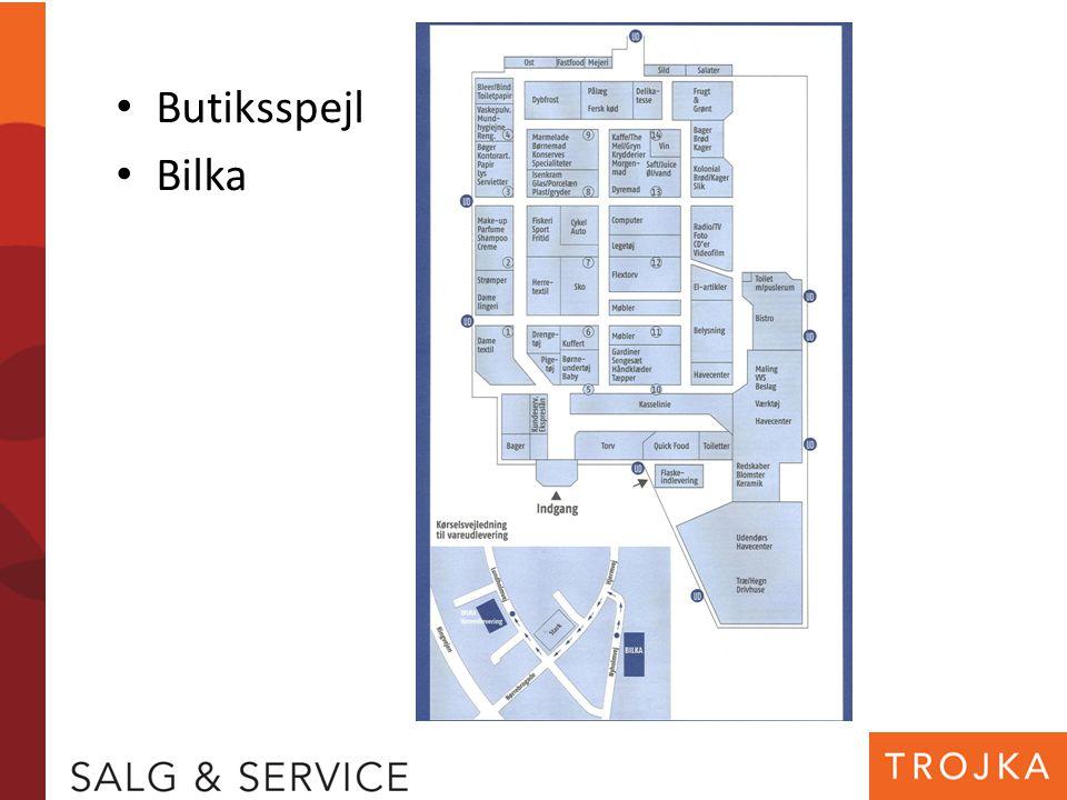 Butiksspejl Bilka