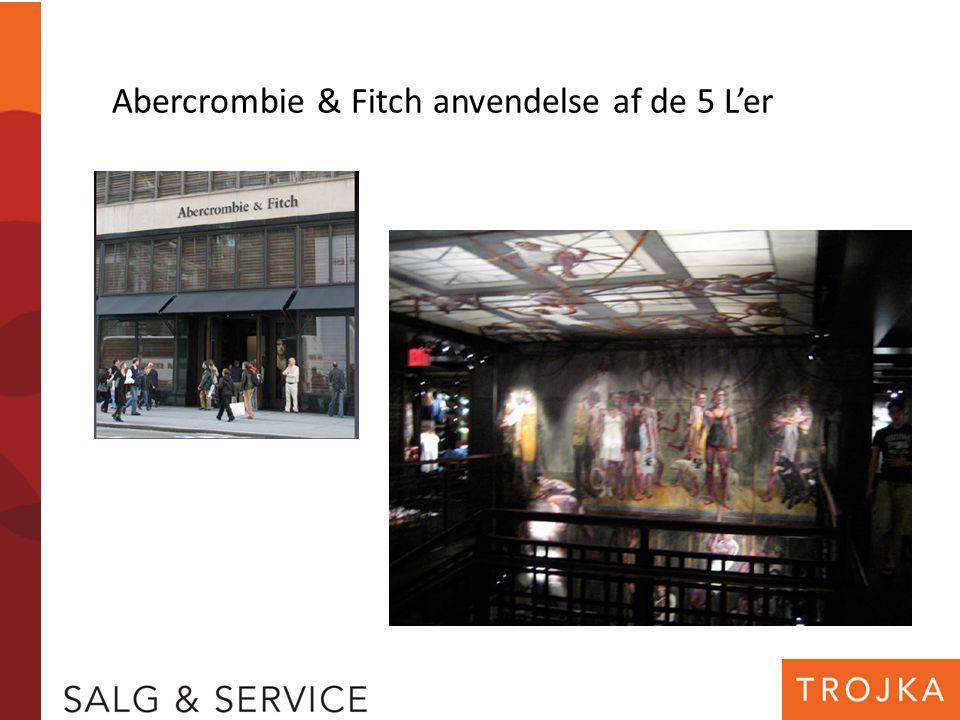Abercrombie & Fitch anvendelse af de 5 L'er