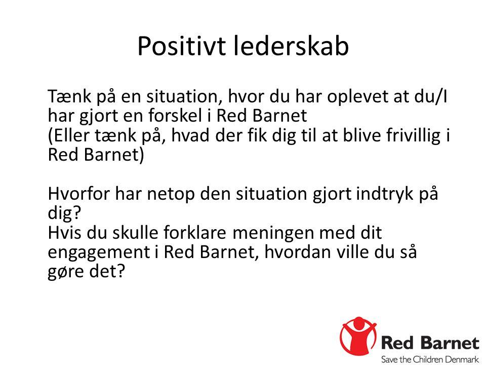 Positivt lederskab