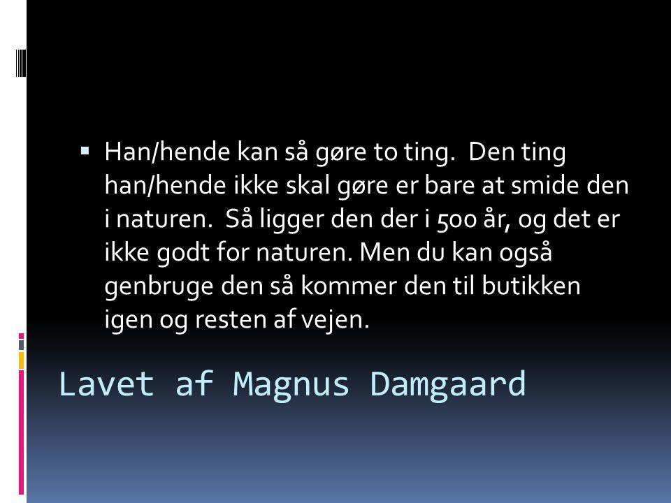 Lavet af Magnus Damgaard