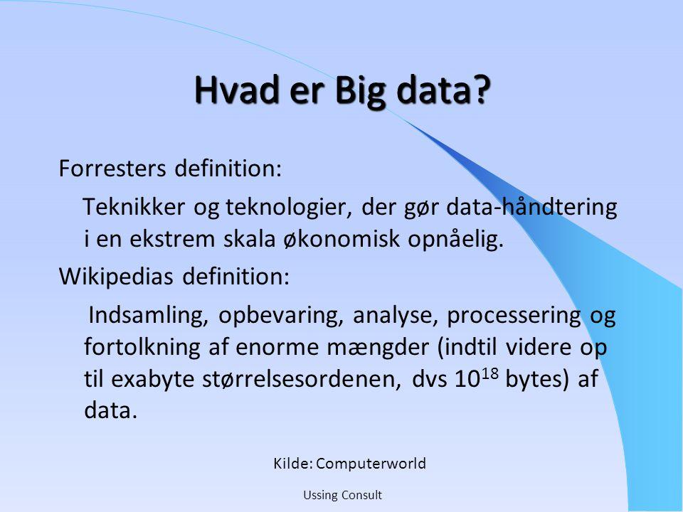 Hvad er Big data