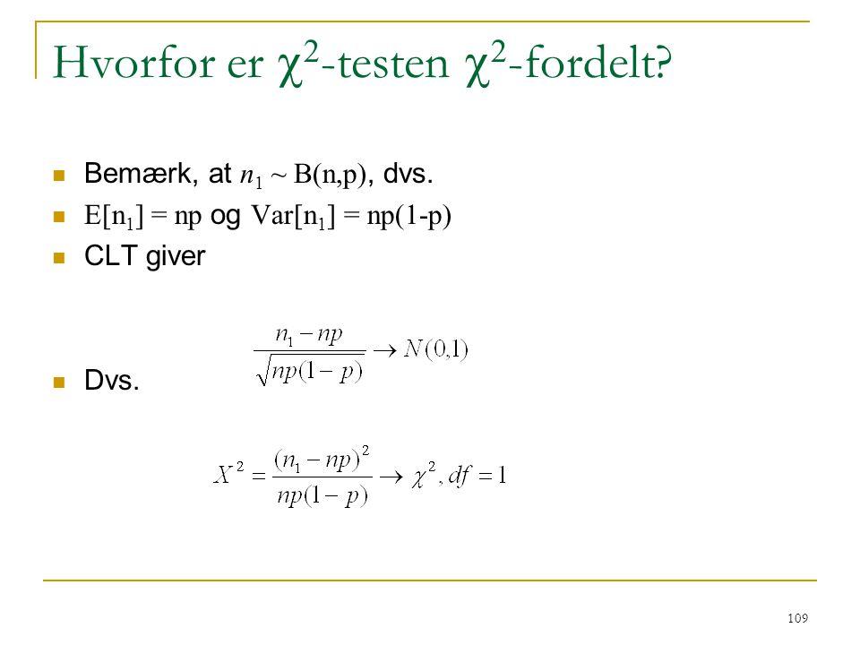 Hvorfor er c2-testen c2-fordelt