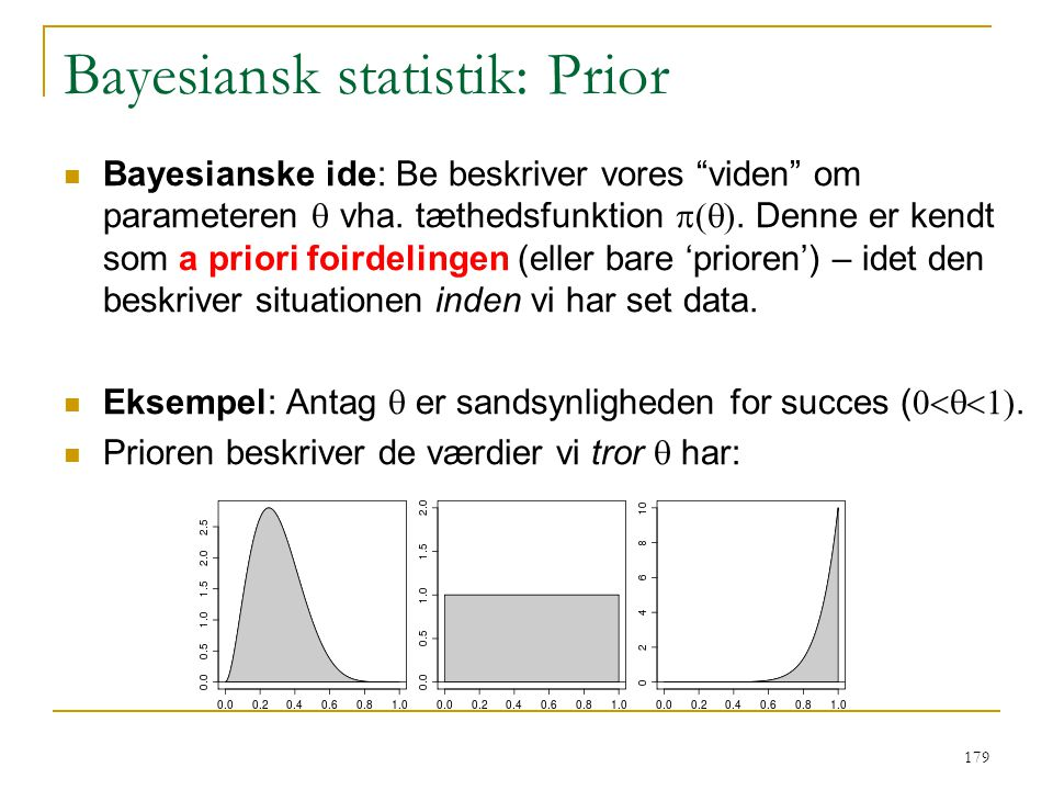Bayesiansk statistik: Prior