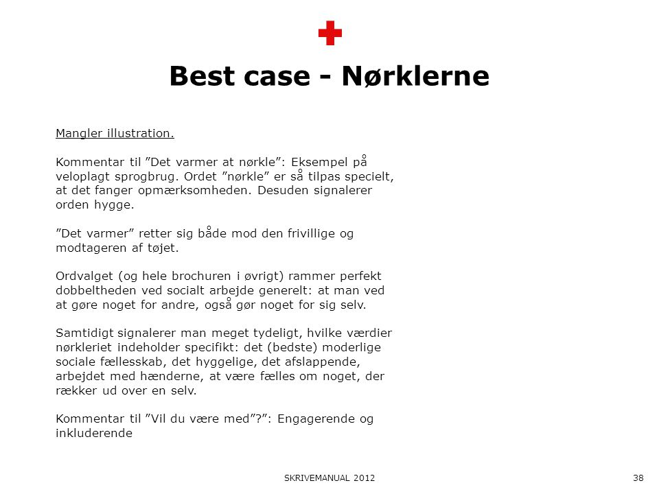 Best case - Nørklerne Mangler illustration.