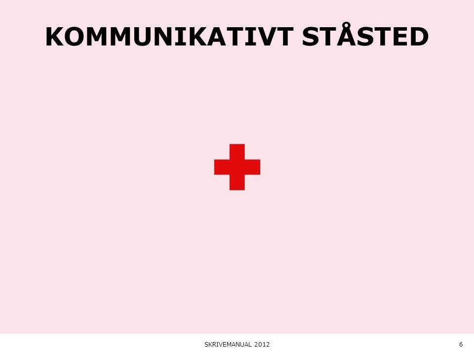 Kommunikativt ståsted