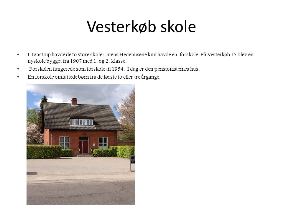 Vesterkøb skole