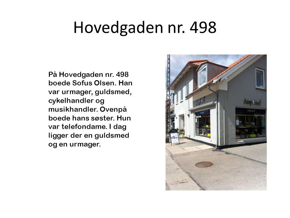Hovedgaden nr. 498