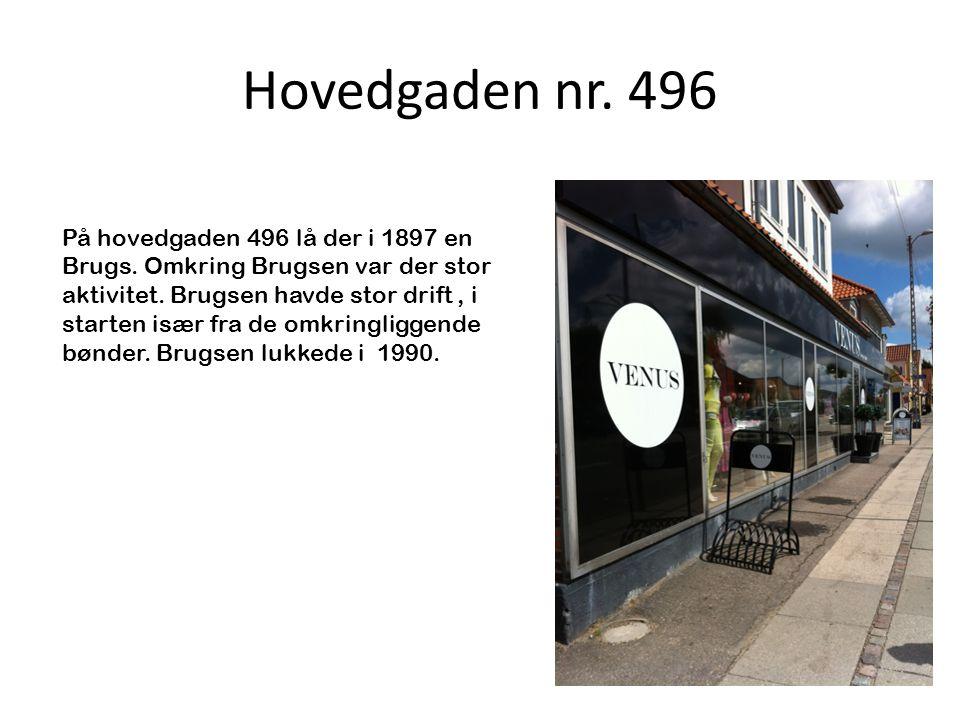 Hovedgaden nr. 496