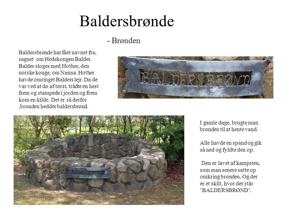 Baldersbrønde - Brønden