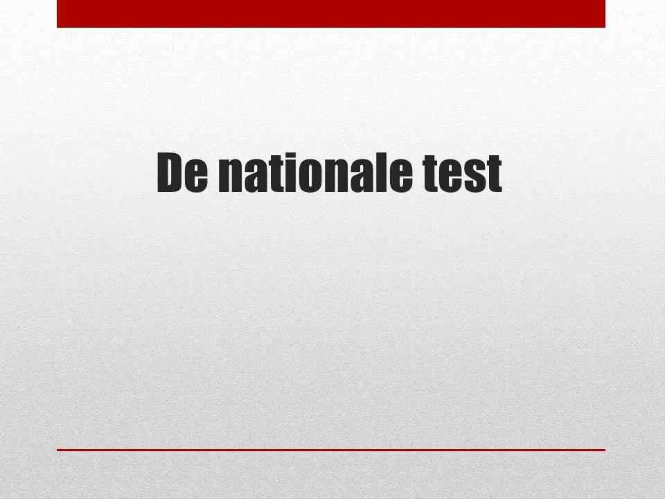 De nationale test Dette oplæg er målrettet mod forældre og har fokus på tre områder: Formålet med de nationale test.