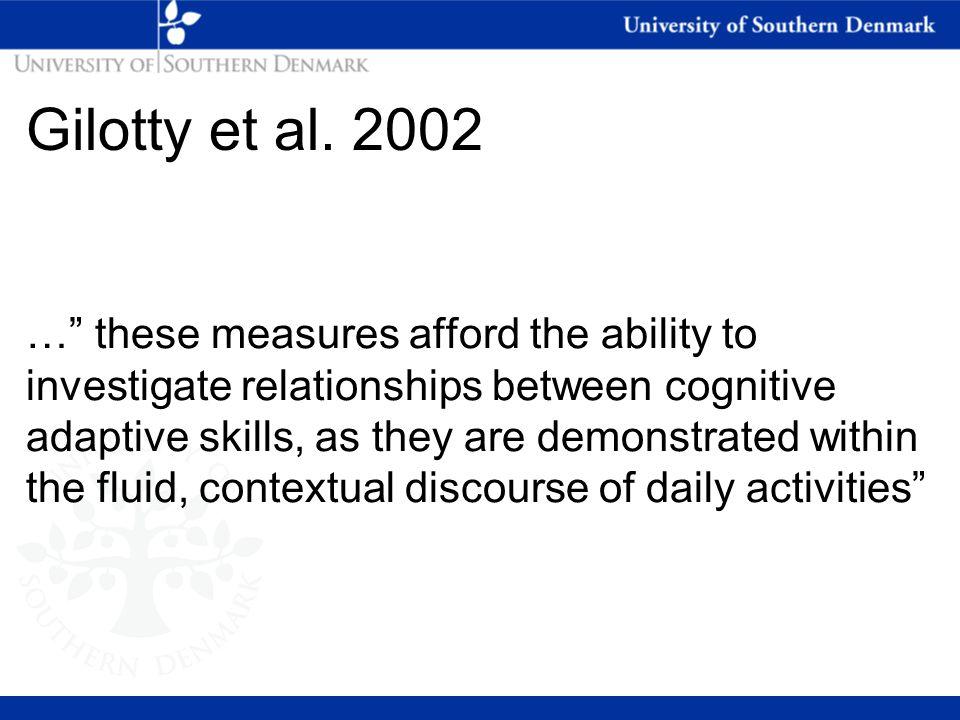 Gilotty et al. 2002