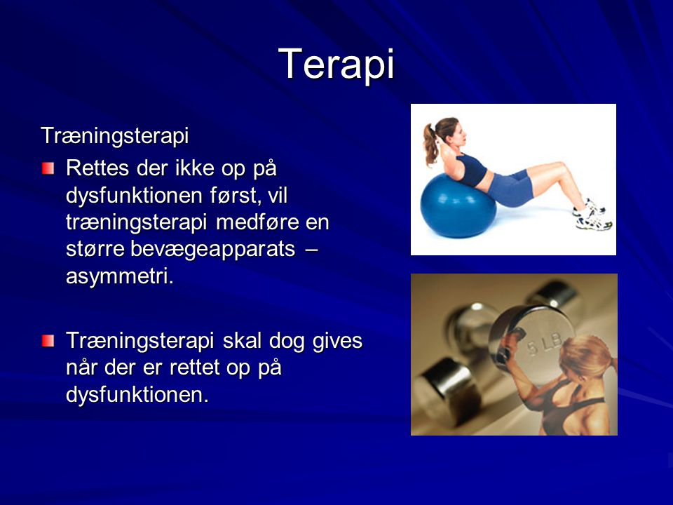 Terapi Træningsterapi