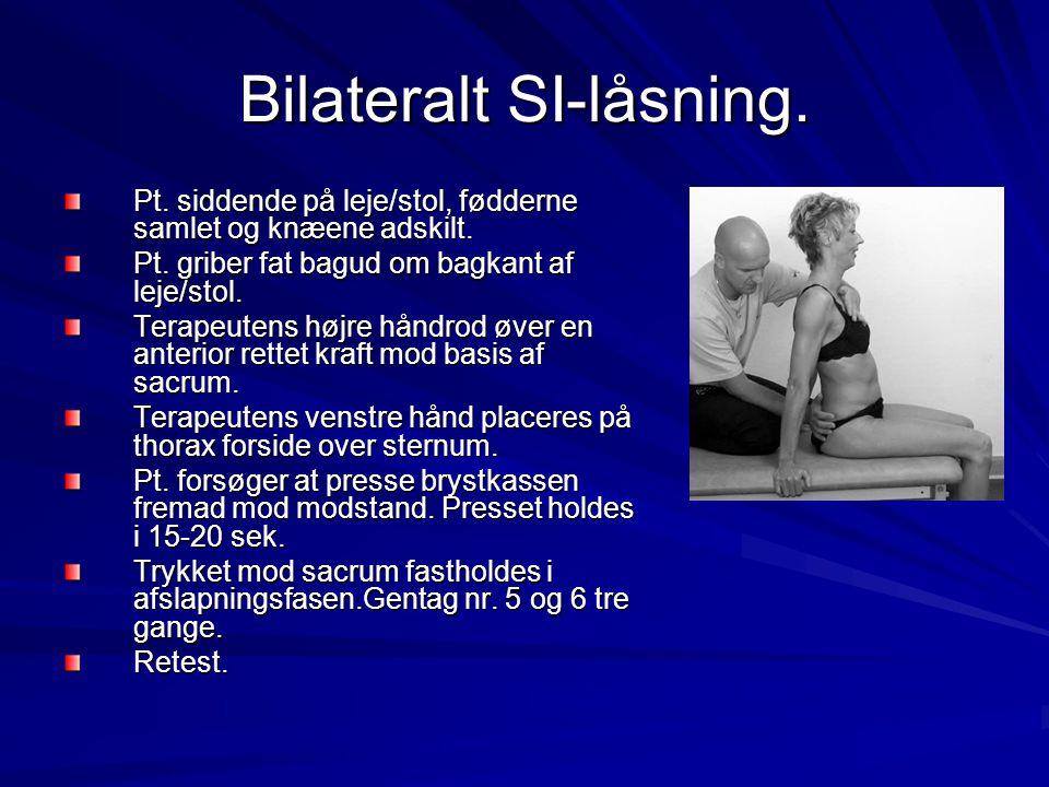 Bilateralt SI-låsning.