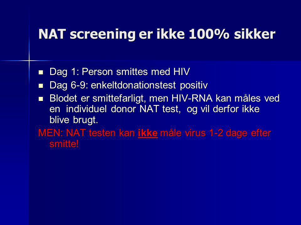 NAT screening er ikke 100% sikker