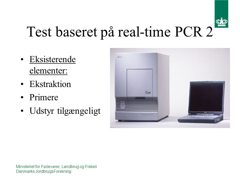 Real time pcr dansk