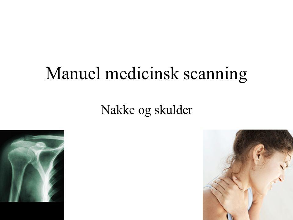 Manuel medicinsk scanning