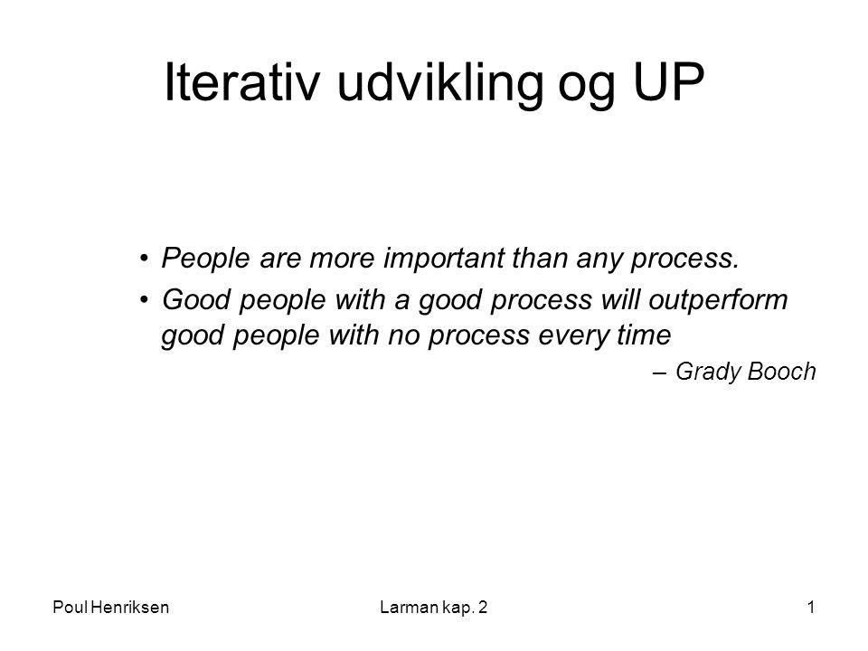 Iterativ udvikling og UP