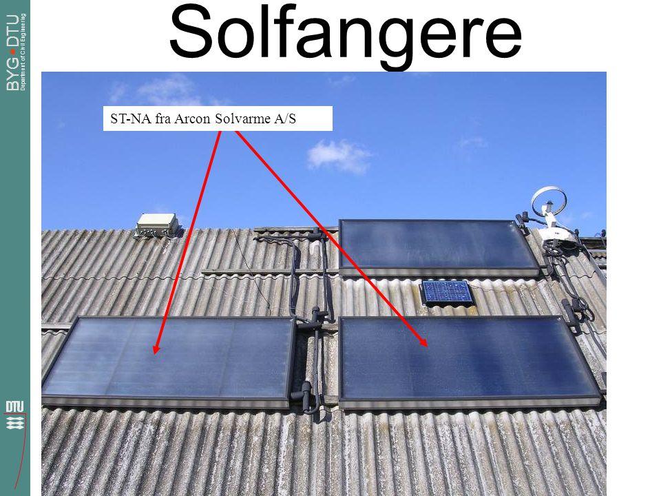 Solfangere ST-NA fra Arcon Solvarme A/S