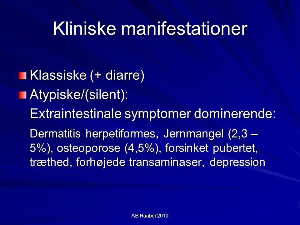 Kliniske manifestationer