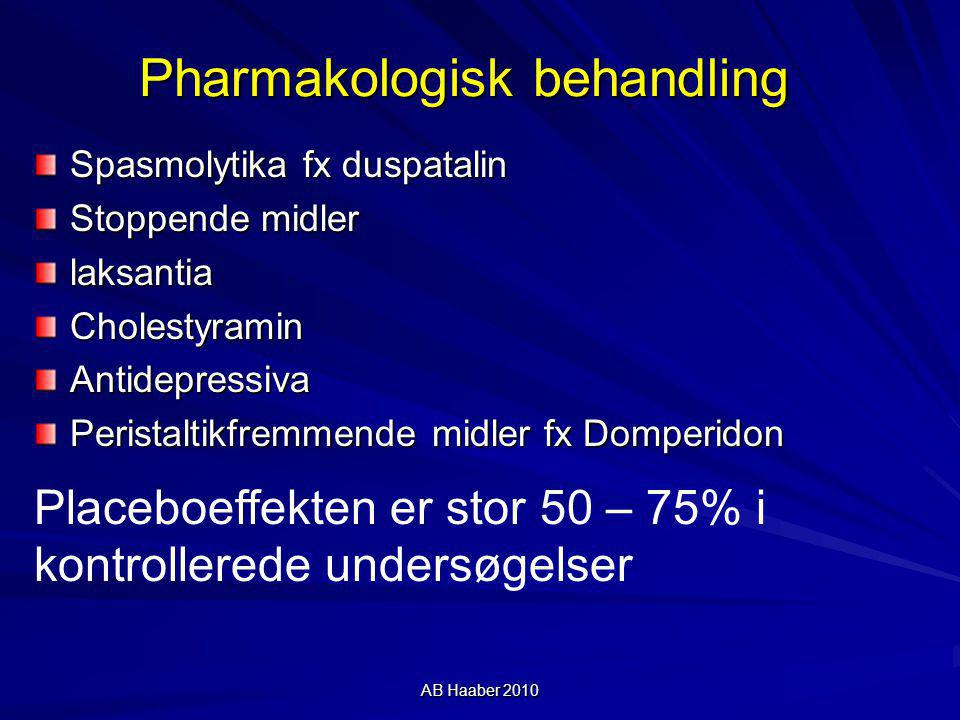 Pharmakologisk behandling
