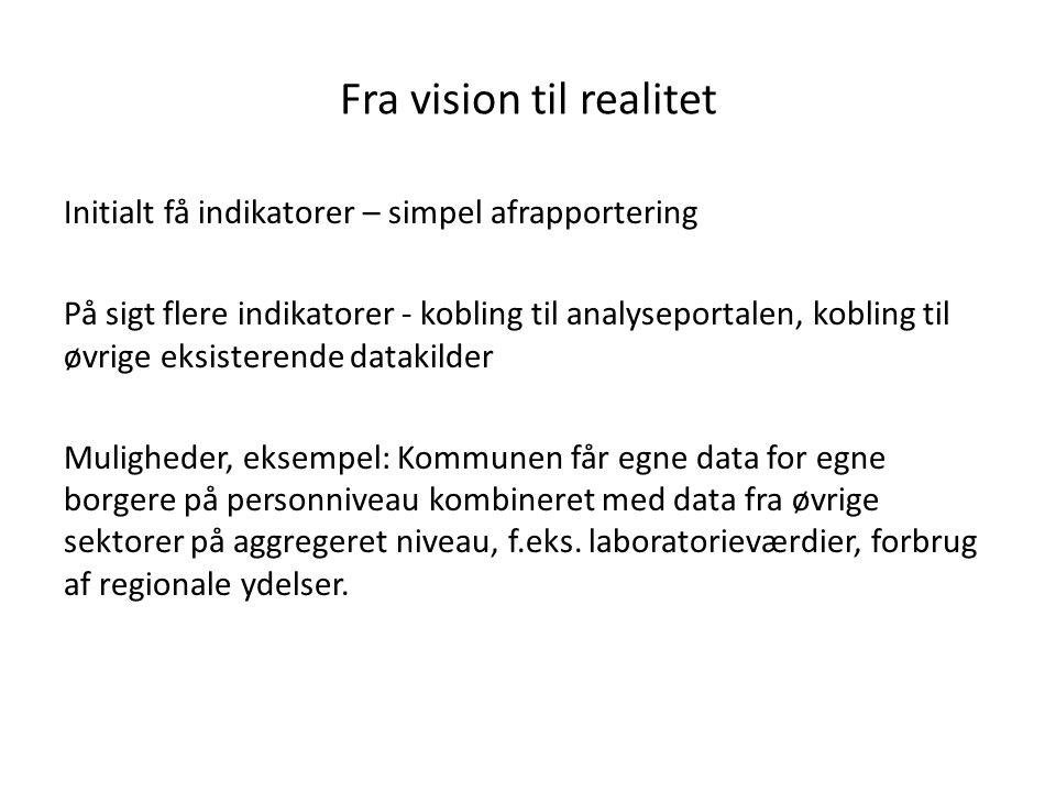 Fra vision til realitet