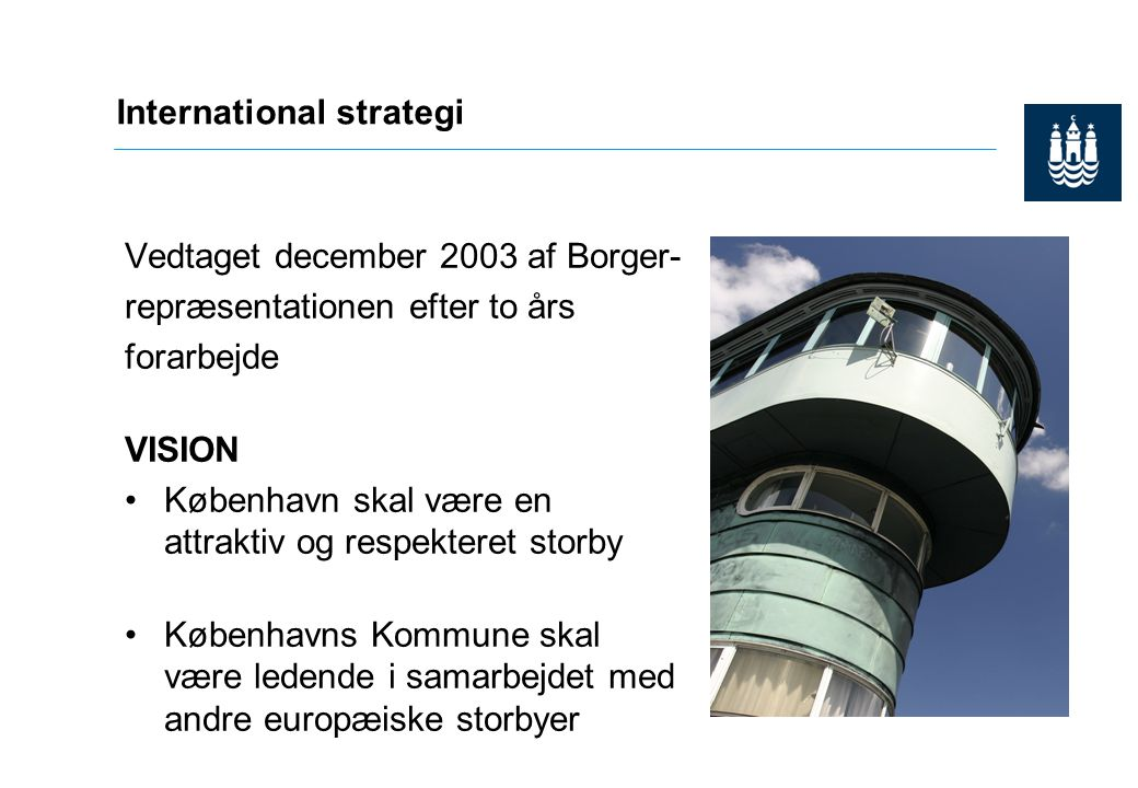 International strategi