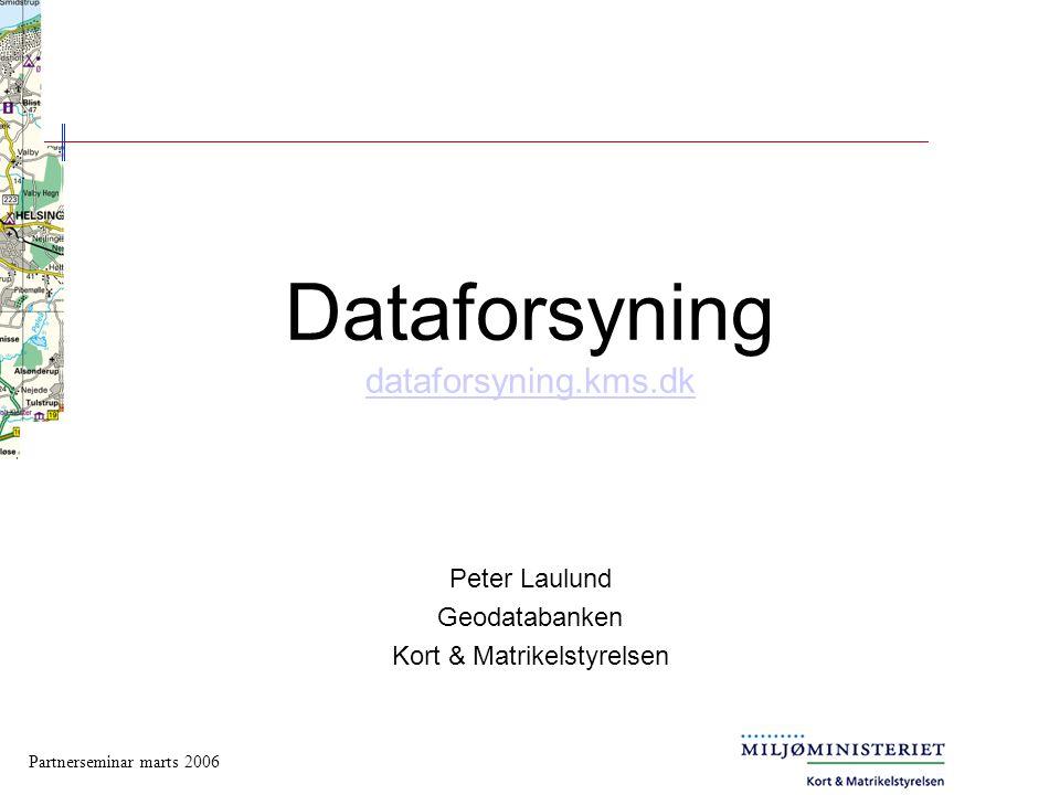 Dataforsyning dataforsyning.kms.dk