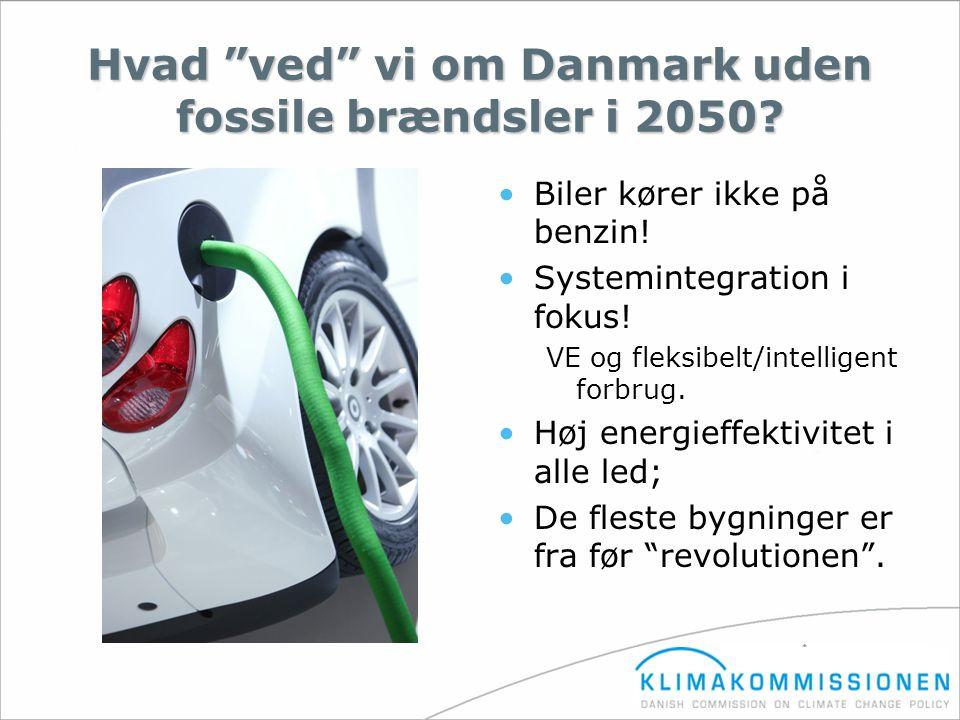Hvad ved vi om Danmark uden fossile brændsler i 2050