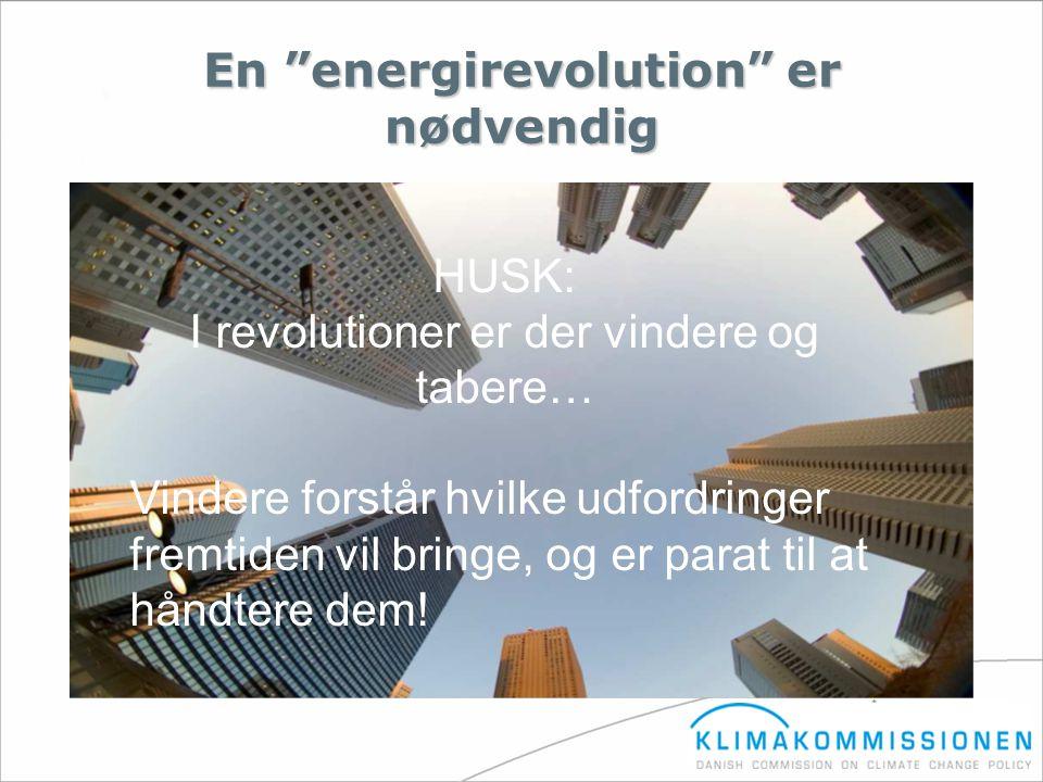 En energirevolution er nødvendig
