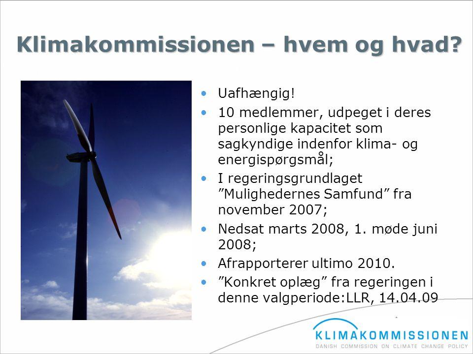 Klimakommissionen – hvem og hvad
