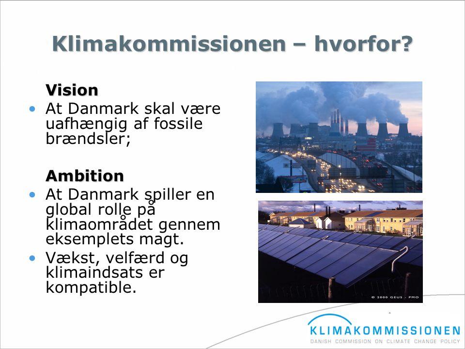 Klimakommissionen – hvorfor
