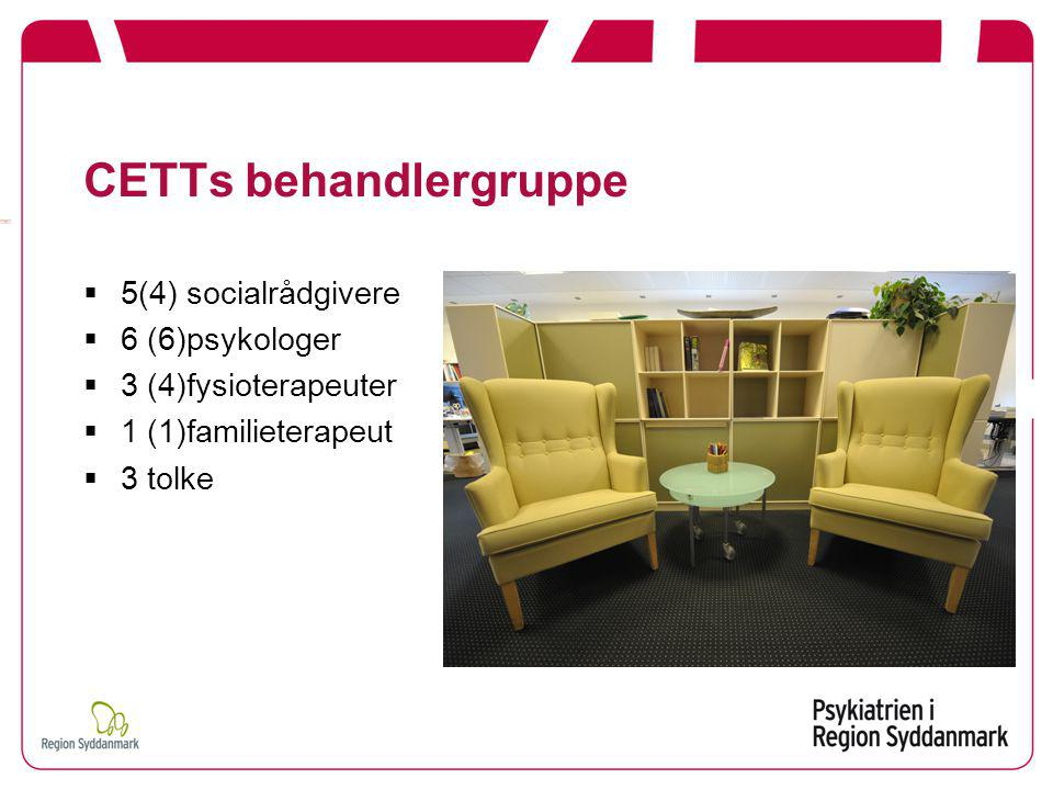CETTs behandlergruppe